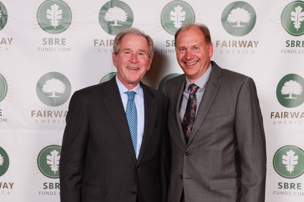 Fairway for America event with President George W. Bush at the Hilton Anatole in Dallas, TX. Photo by Grant Miller