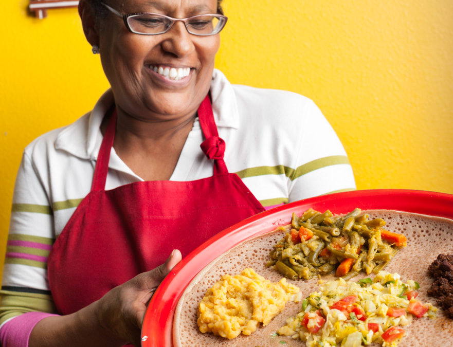 I Dare You to Eat Ethiopian Food