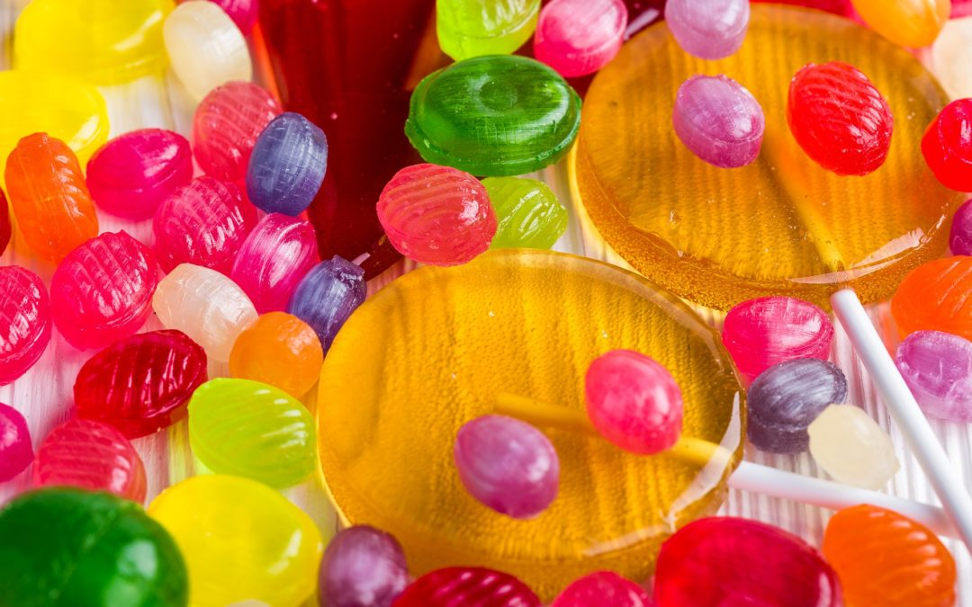Lollipops Tainted with Chickenpox for Halloween