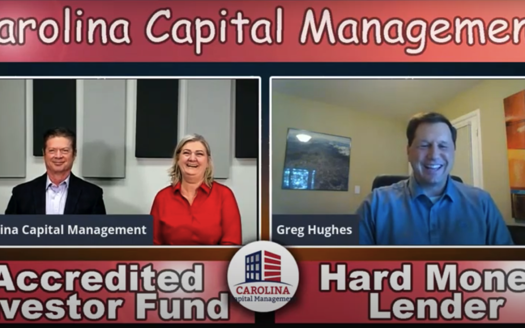 My Interview on the Carolina Hard Money for Real Estate Investing Show